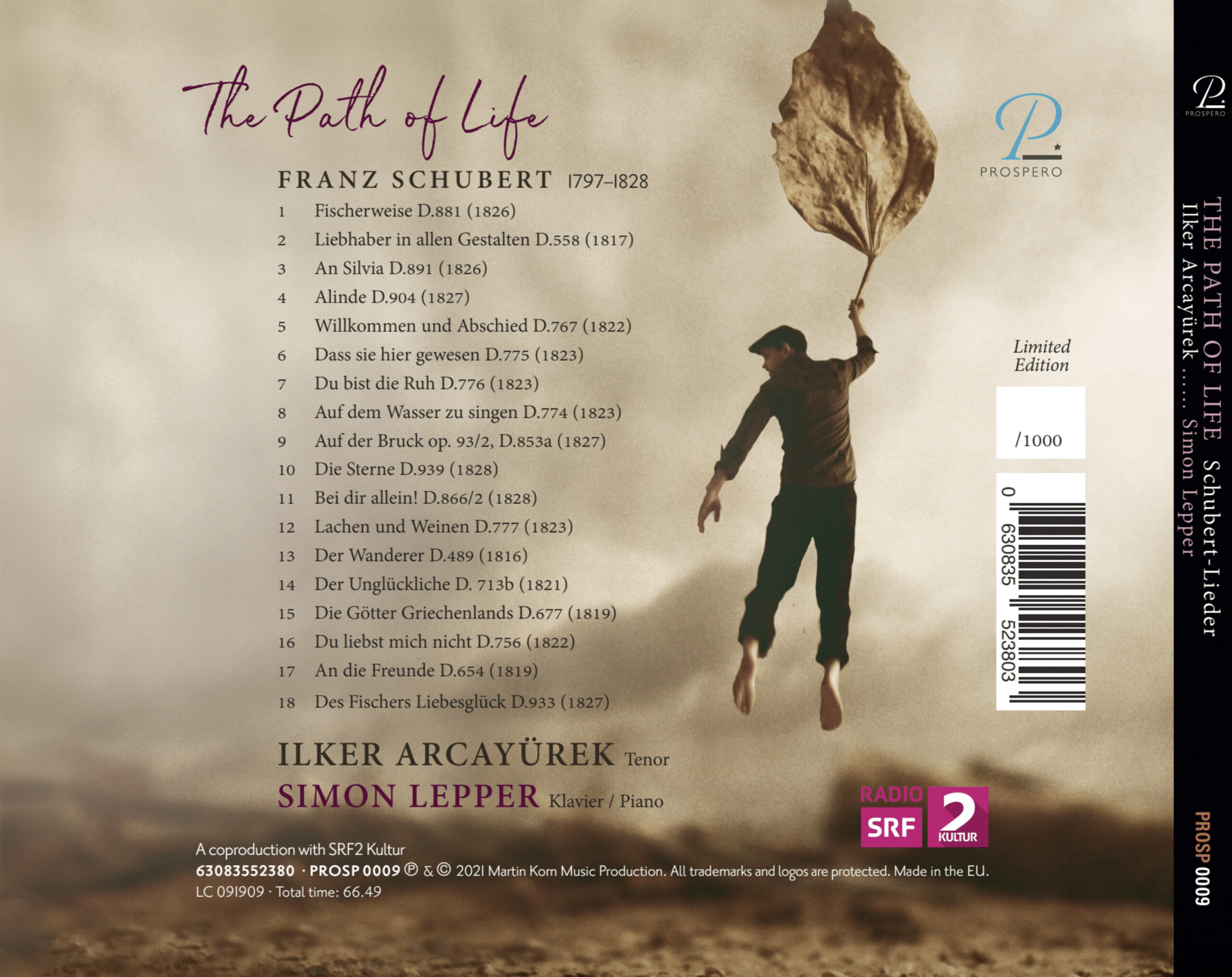 The Path of Life - Digipack Back