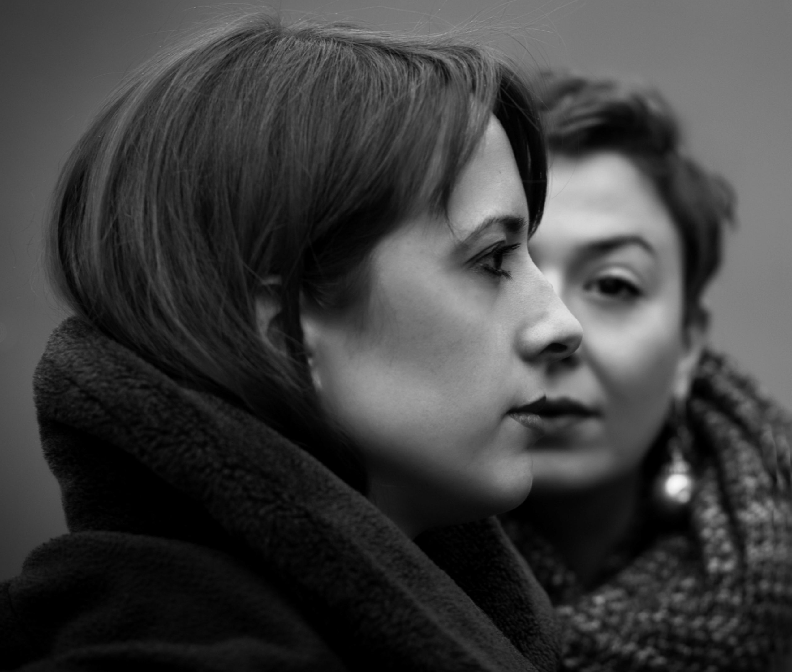 Marie-Pierre Roy, Justine Eckhaut (at the right)