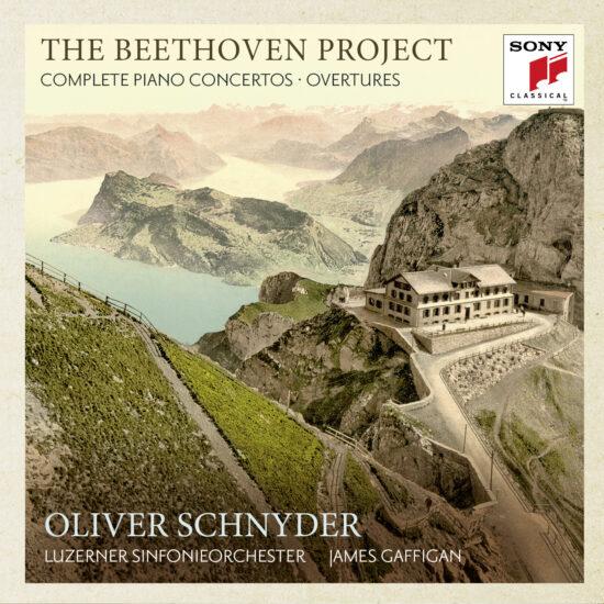 CD-Coder Beethoven-Klavierkonzerte - Oliver Schnyder