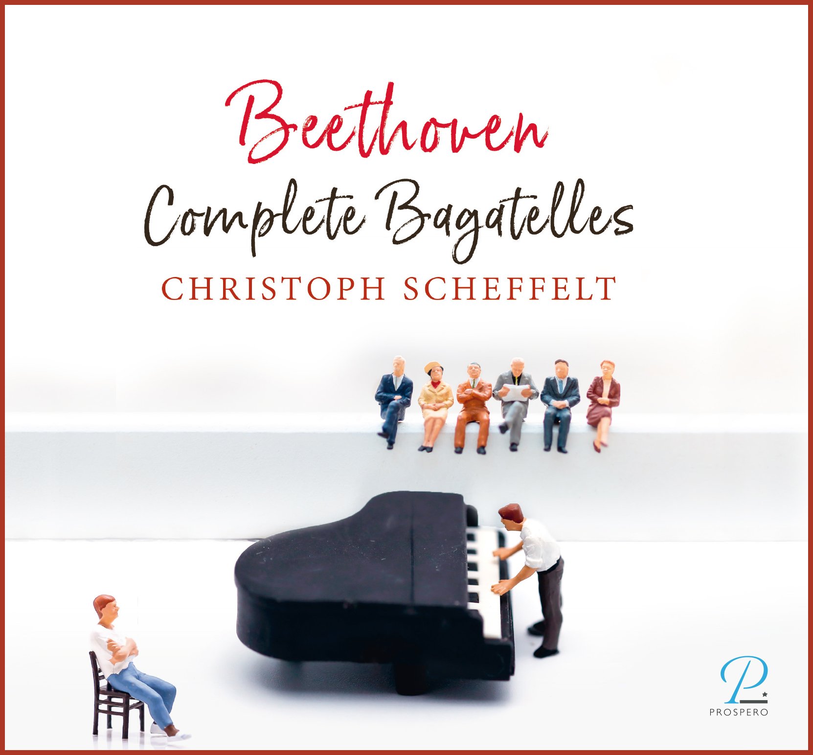Beethoven Bagatelles - Frontcover