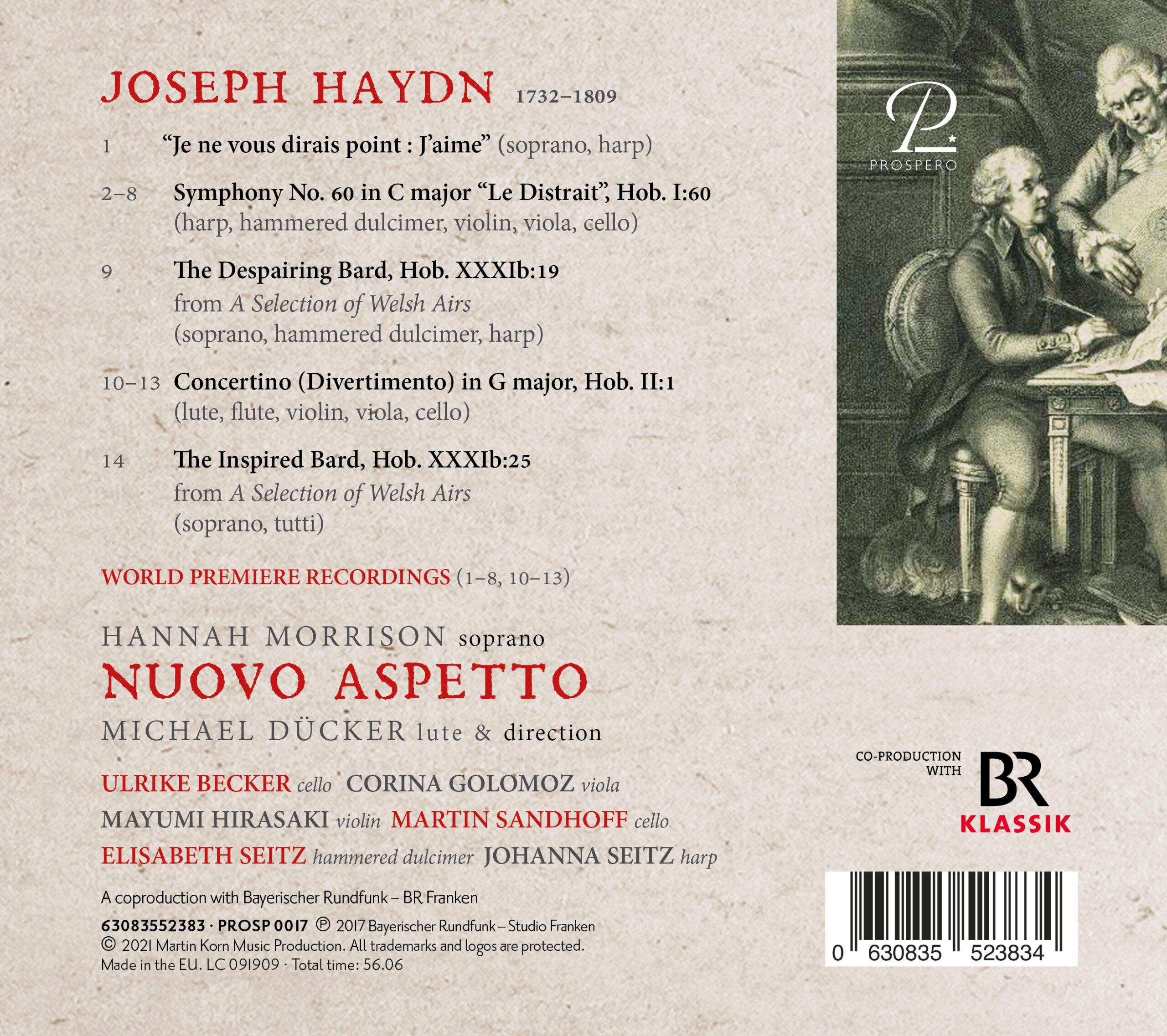 Haydn News - Digibook Back