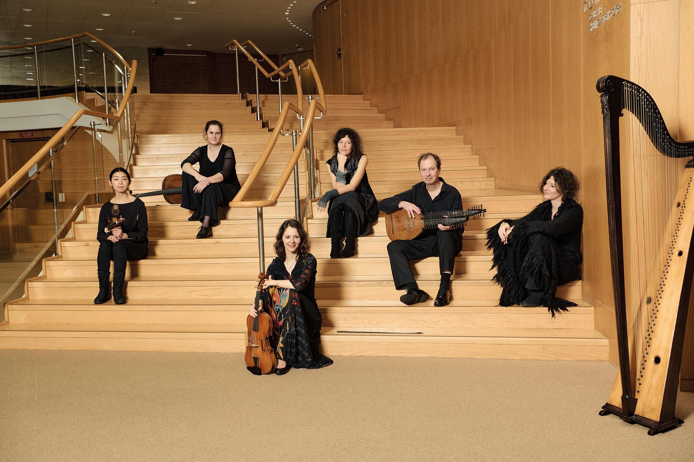 Ensemble Nuovo Aspetto, Michel Dücker Hannah Morrison