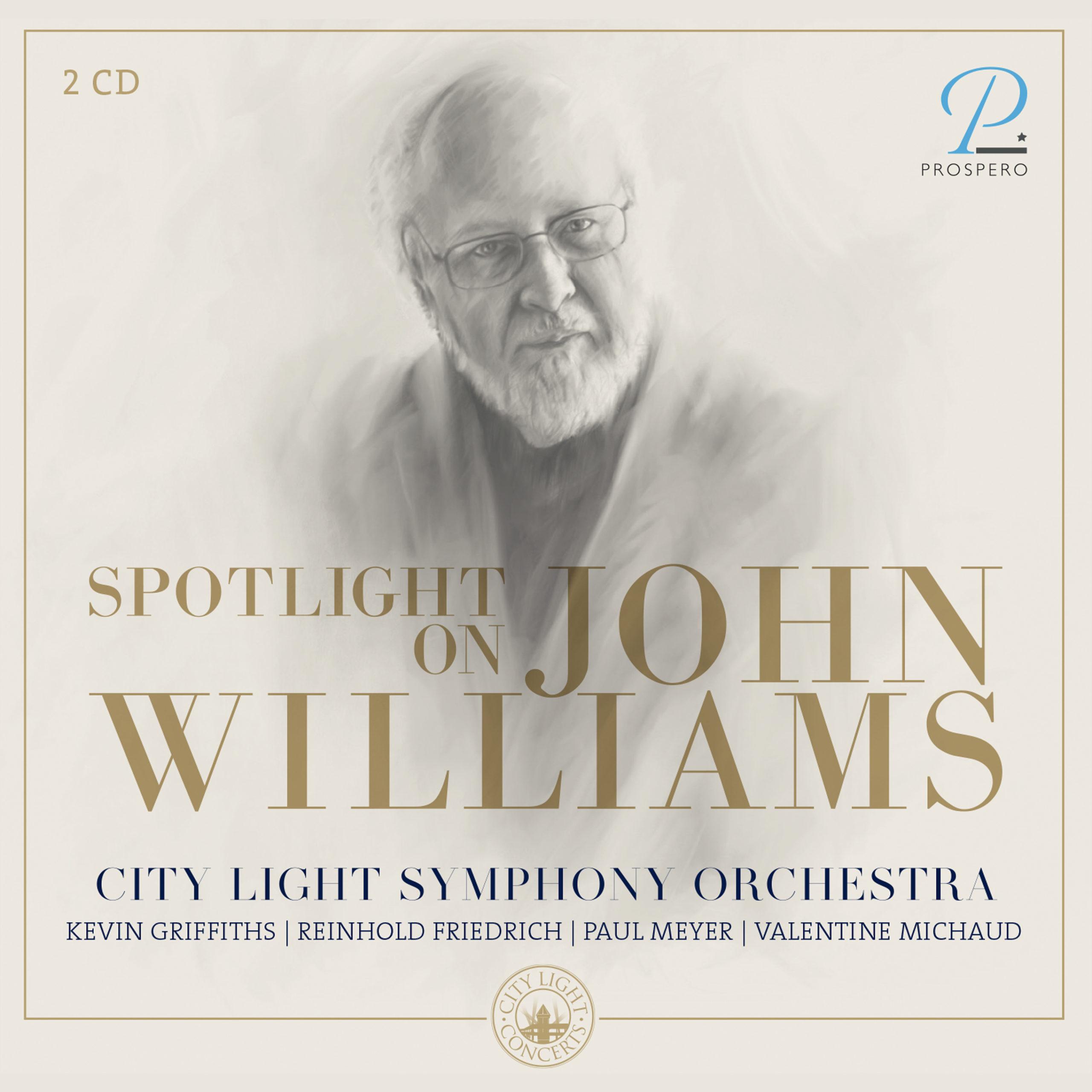 Spotlight on John Williams - Cover Art