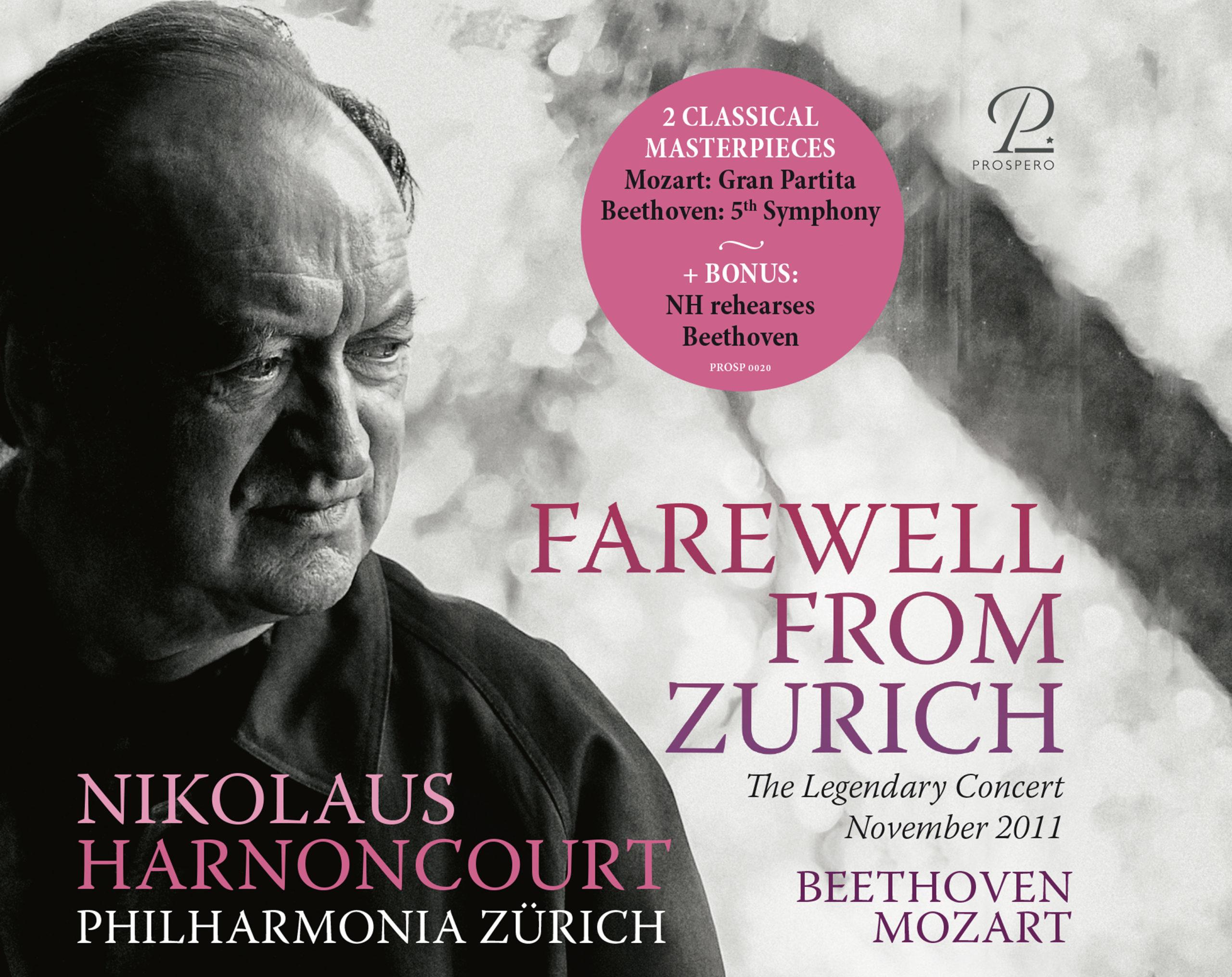 Farewell from Zurich - Cover Art
