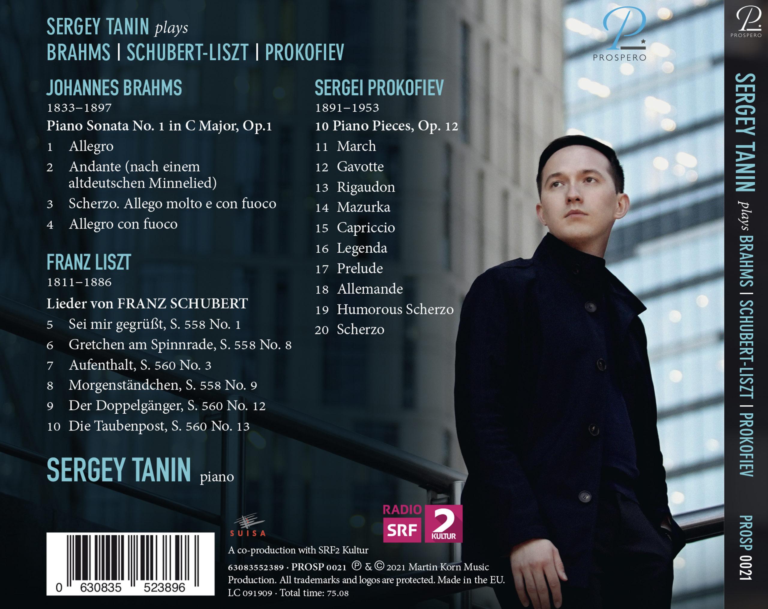 Sergey Tanin - Digibook Back